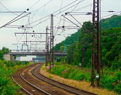 Aisladores ferrocarril