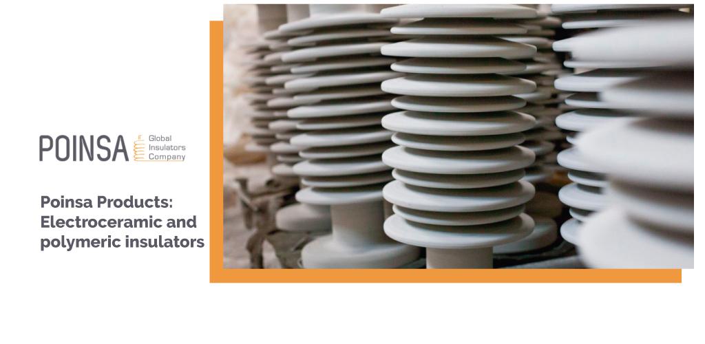 electro-ceramic and polymeric insulators